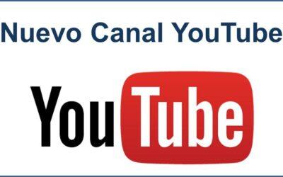 ¡Tenemos nuevo canal de YouTube!